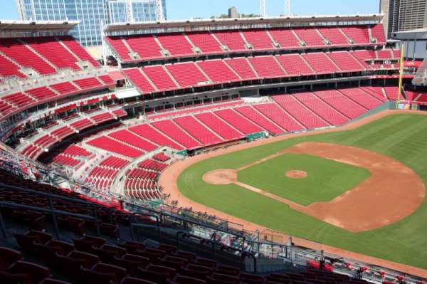 Great American Ball Park, section: 532, row: L, seat: 11