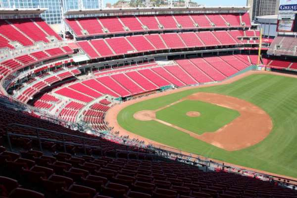 Great American Ball Park, section: 532, row: s, seat: 11
