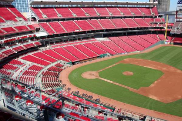Great American Ball Park, section: 533, row: b, seat: 10