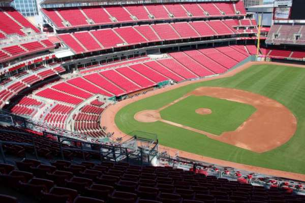 Great American Ball Park, section: 533, row: k, seat: 12