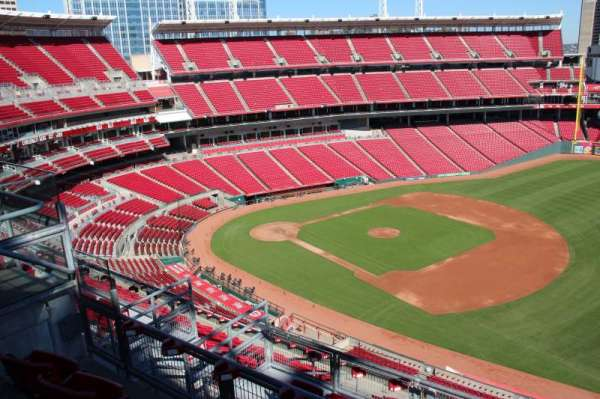 Great American Ball Park, section: 534, row: a, seat: 13