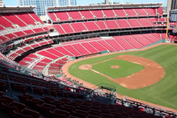 Great American Ball Park, section: 534, row: L, seat: 11