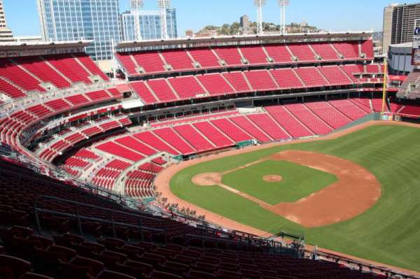Great American Ball Park, section: 534, row: S, seat: 12