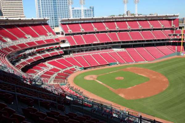 Great American Ball Park, section: 535, row: L, seat: 14