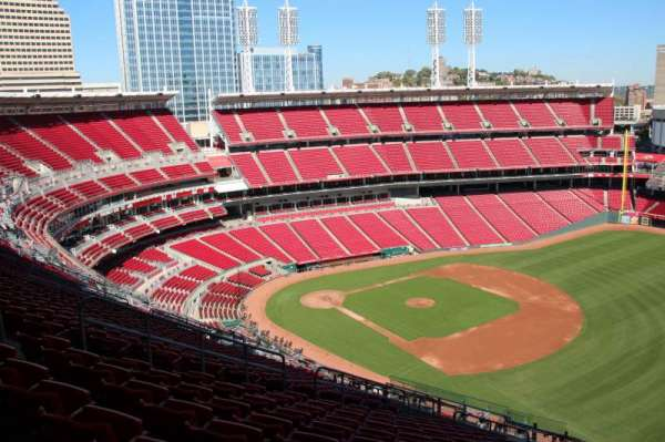 Great American Ball Park, section: 535, row: q, seat: 11