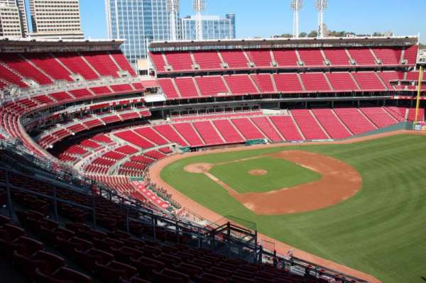Great American Ball Park, section: 536, row: L, seat: 12