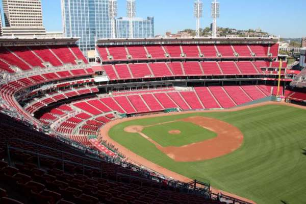 Great American Ball Park, section: 536, row: S, seat: 13