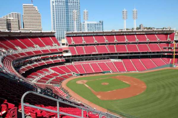 Great American Ball Park, section: 537, row: N, seat: 12