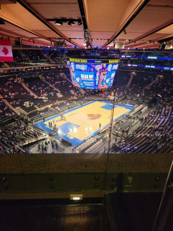 Madison Square Garden, section: 309, row: 2, seat: 6
