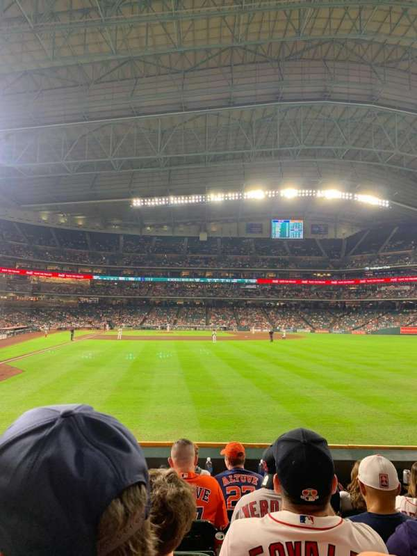Minute Maid Park, section: 152, row: 6, seat: 10