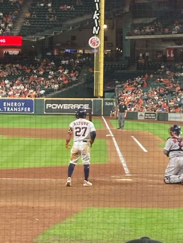 Minute Maid Park, section: 116, row: 9, seat: 8