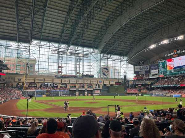 Minute Maid Park, section: 120, row: 19, seat: 13