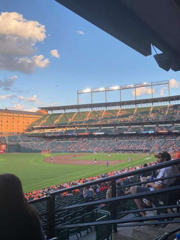 Oriole Park at Camden Yards, section: 69, row: 3, seat: 3