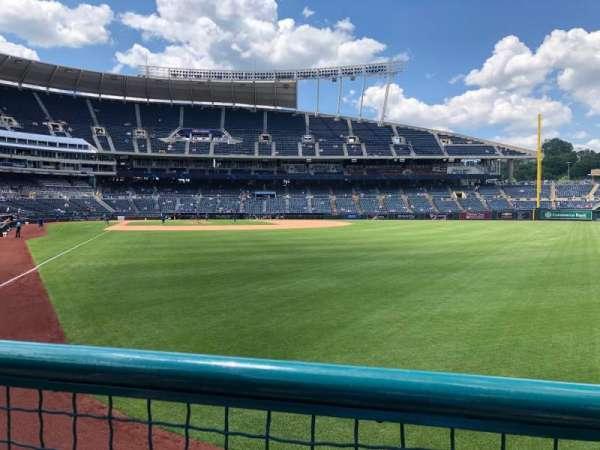 Kauffman Stadium, section: 148, row: J, seat: 13