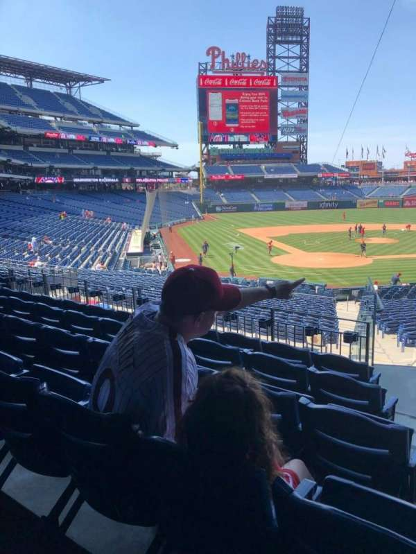 Citizens Bank Park, section: 122, row: 30, seat: 2