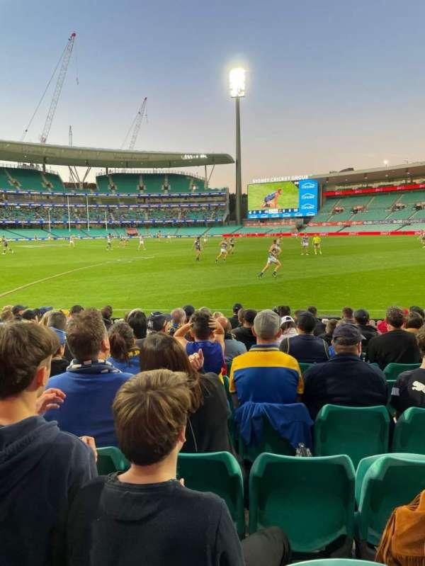 Sydney Cricket Ground, section: 28, row: K, seat: 7