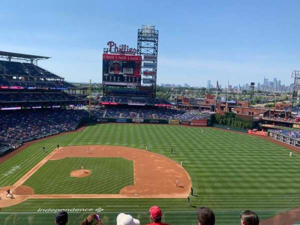Citizens Bank Park, section: 315, row: 5, seat: 11