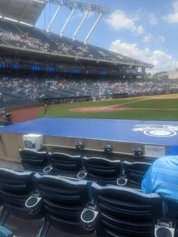 Kauffman Stadium, section: 133, row: D, seat: 5