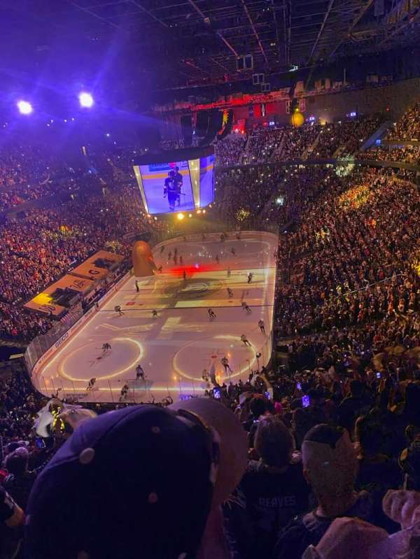 T-mobile Arena, section: 216, row: L, seat: 1