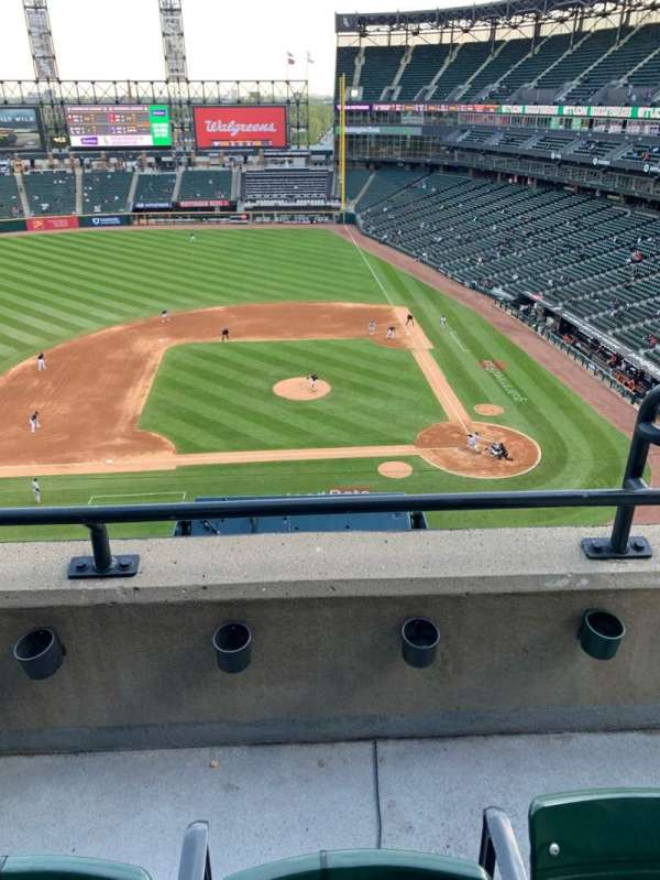 Guaranteed Rate Field, section: 538, row: 2, seat: 2