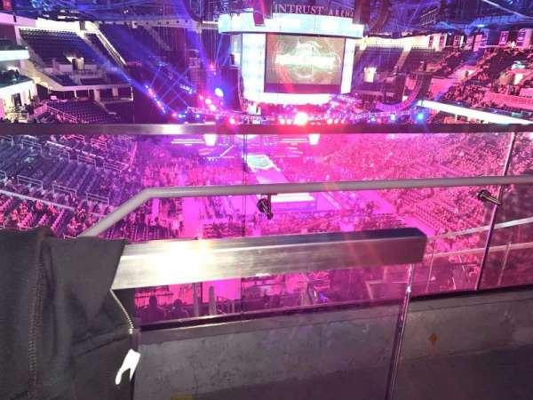 Wintrust Arena, section: 204, row: K, seat: 2