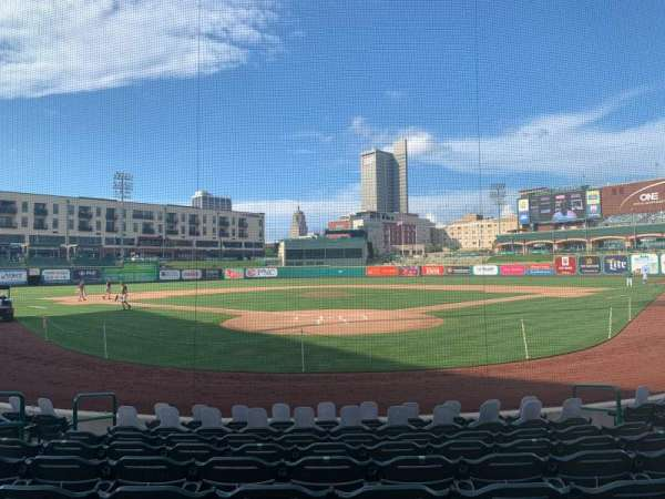 Parkview Field, section: 108, row: J, seat: 8