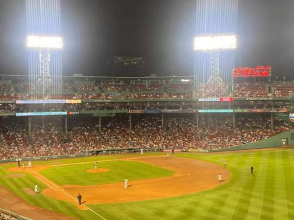 Fenway Park, section: Right Field Roof Deck Box 29, row: E, seat: 3