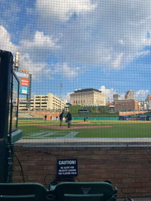 Comerica Park, section: 127, row: 3, seat: 1
