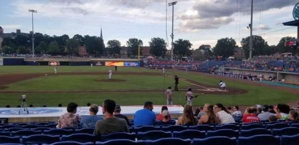 Atrium Health Ballpark, section: 111, row: Q, seat: 13