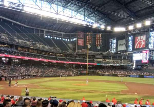 Chase Field, section: 116, row: 22, seat: 16
