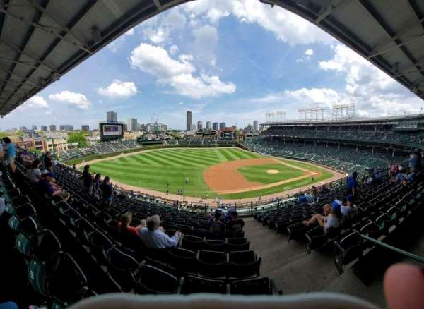 Wrigley Field, section: 308L, row: 10, seat: 24