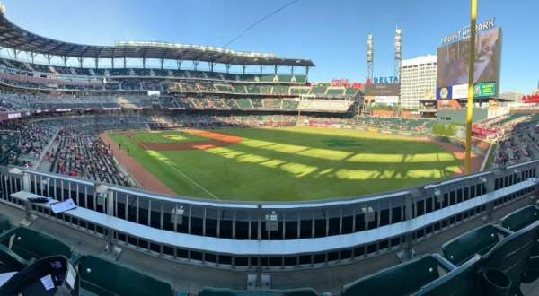 Truist Park, section: 211, row: 2, seat: 16