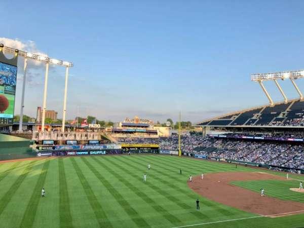 Kauffman Stadium, section: CRAFT and DRAFT, row: TBLB, seat: 1