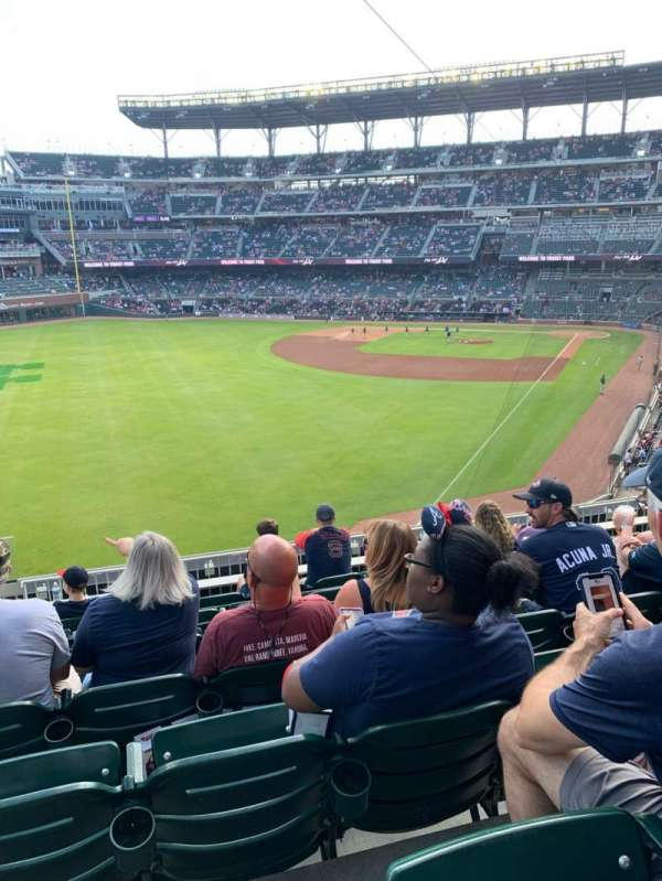 Truist Park, section: 243, row: 7, seat: 18