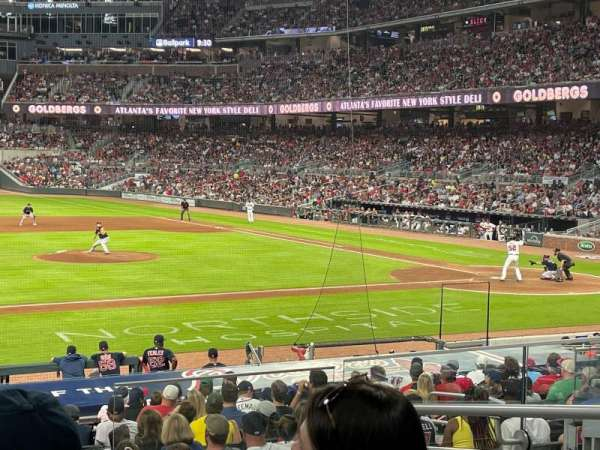 Truist Park, section: 133, row: 5, seat: 5
