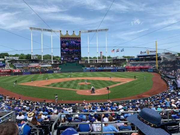 Kauffman Stadium, section: DCBOX, row: 2, seat: 1