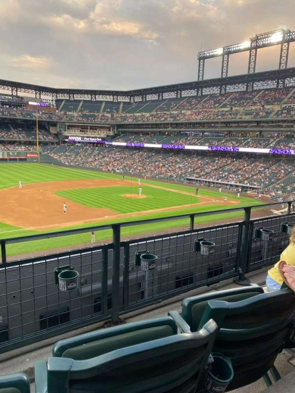Coors Field, section: 242, row: 2, seat: 9