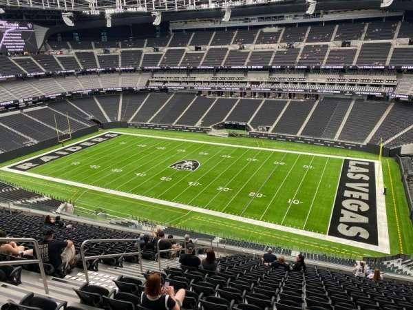 Allegiant Stadium, section: 308, row: 16, seat: 18