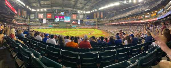 Chase Field, section: 125, row: 32, seat: 6