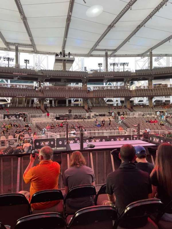Daily's Place, section: D, row: D, seat: 20