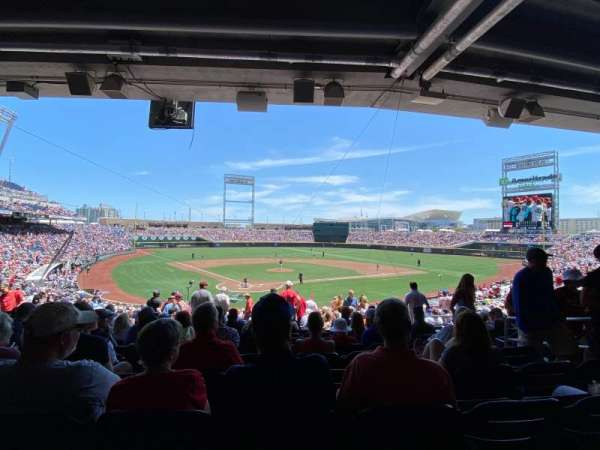 TD Ameritrade Park, section: 111, row: 30, seat: 4
