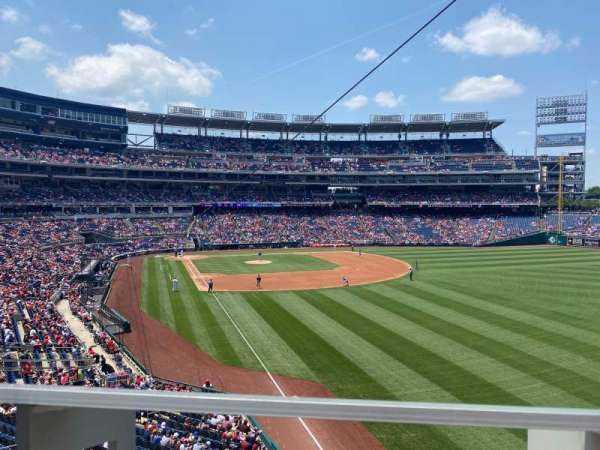 Nationals Park, section: 233, row: A, seat: 3