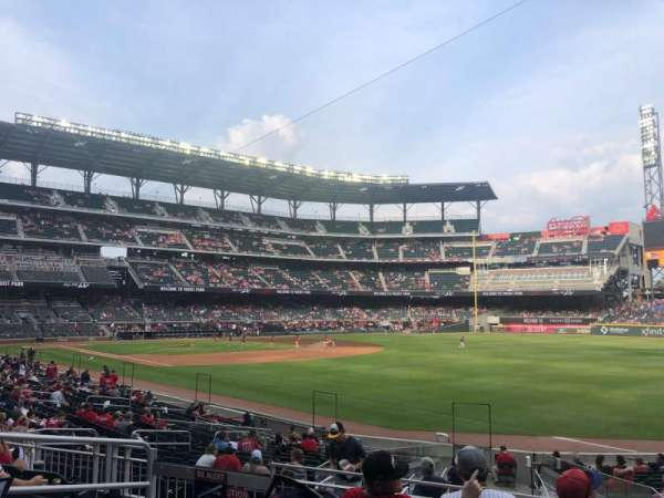 Truist Park, section: 111, row: 5, seat: 9