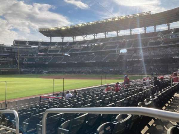 Truist Park, section: 40, row: 12, seat: 1