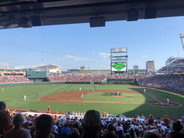 TD Ameritrade Park, section: 116, row: 30, seat: 9