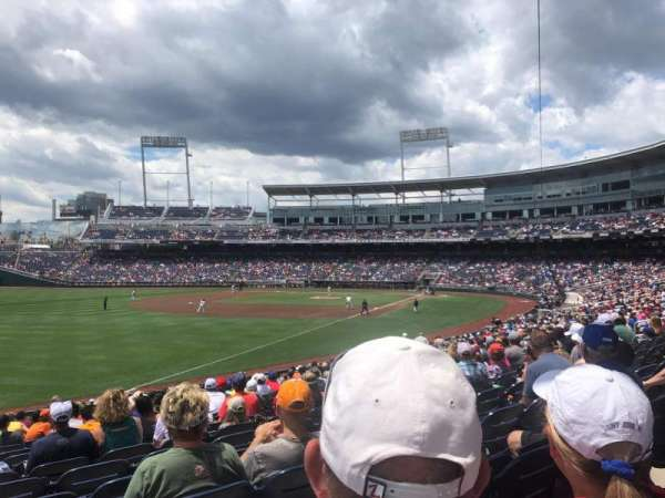 TD Ameritrade Park, section: 122, row: 25, seat: 24