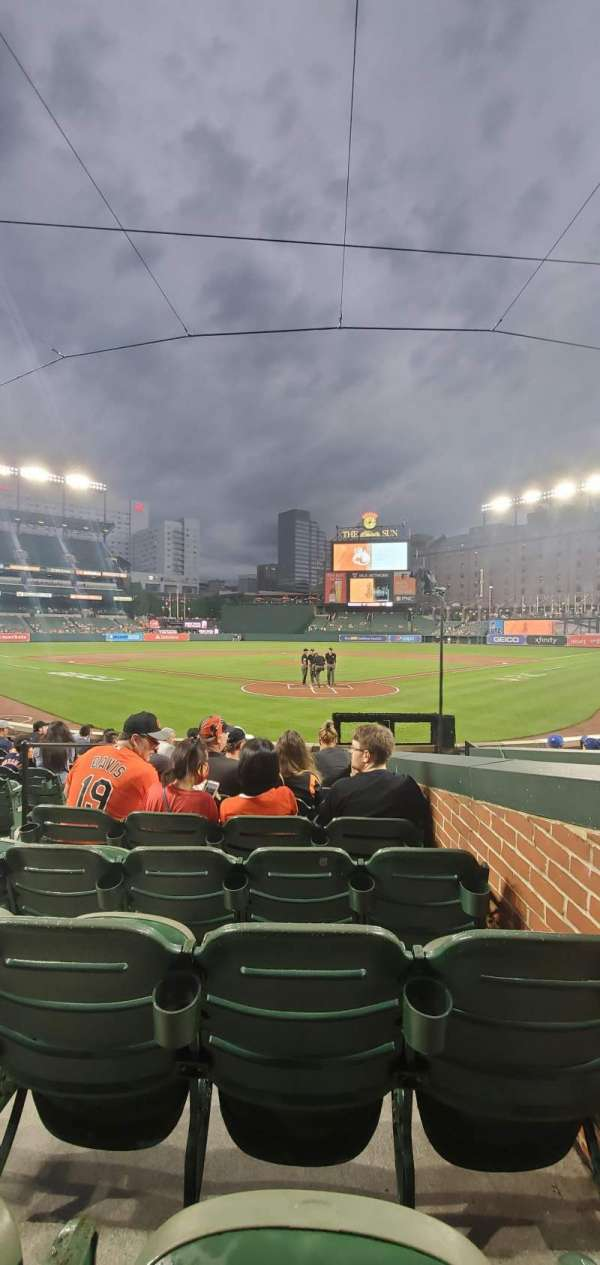 Oriole Park at Camden Yards, section: 38, row: 11, seat: 2