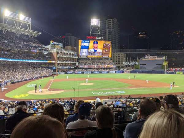 PETCO Park, section: L, row: 5, seat: 3