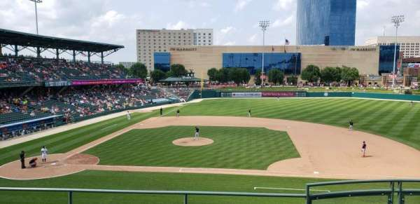 Victory Field, section: 215, row: E, seat: 19