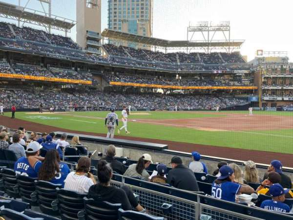 PETCO Park, section: 113, row: 7, seat: 15